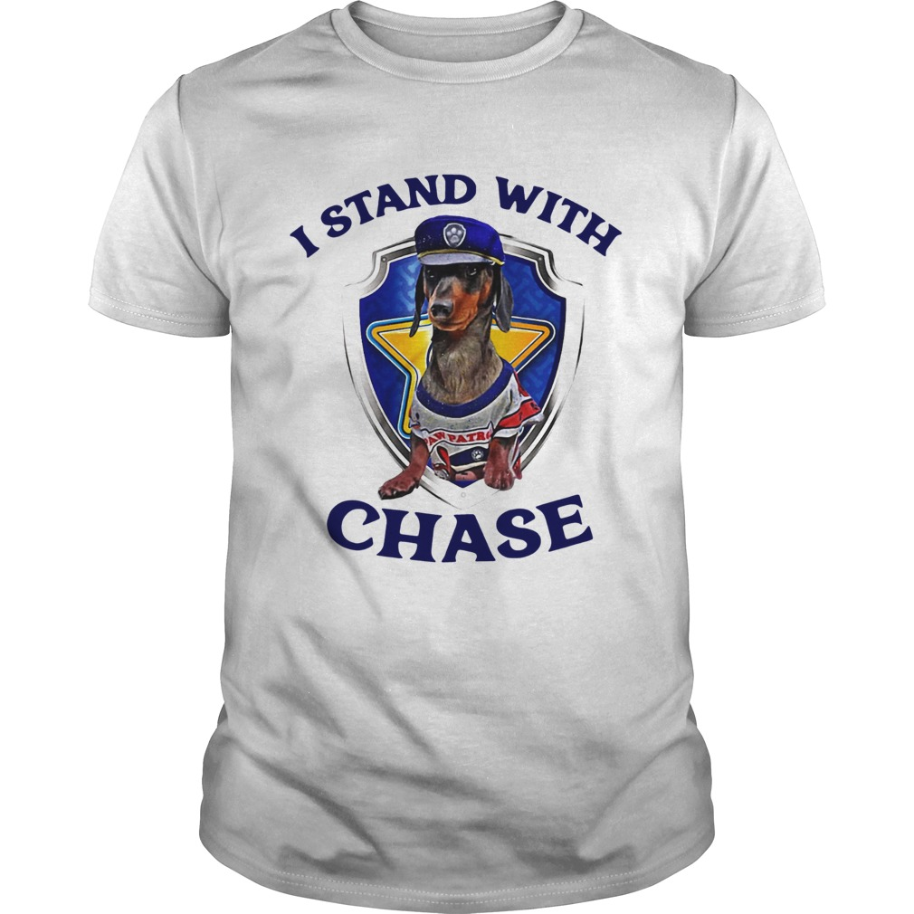 Dachshund I Stand With Chase Unisex