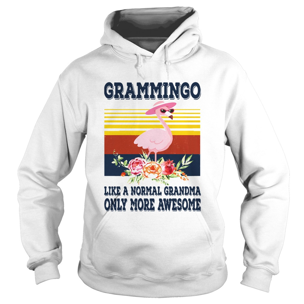 Grammingo Like A Normal Grandma Only More Awesome Vintage Hoodie
