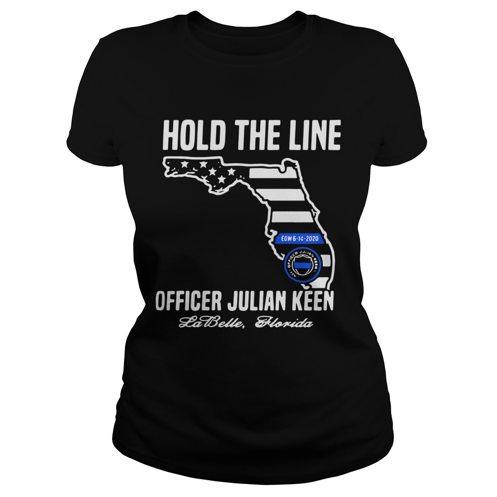 Hold The Line Officer Julian Keen Jabette Florida  Classic Ladies