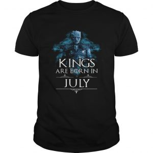 1594889968Night king kings are born in july shirt