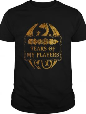 DungeonsDragons Tears Of My Players shirt