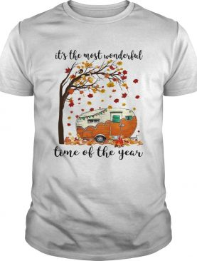 Its The Most Wonderful Time Of The Year Camping shirt