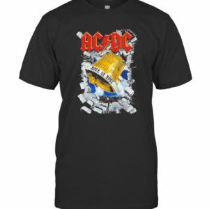 Acdc Band Hells Bell Rock Or Rust Christmas T-Shirt