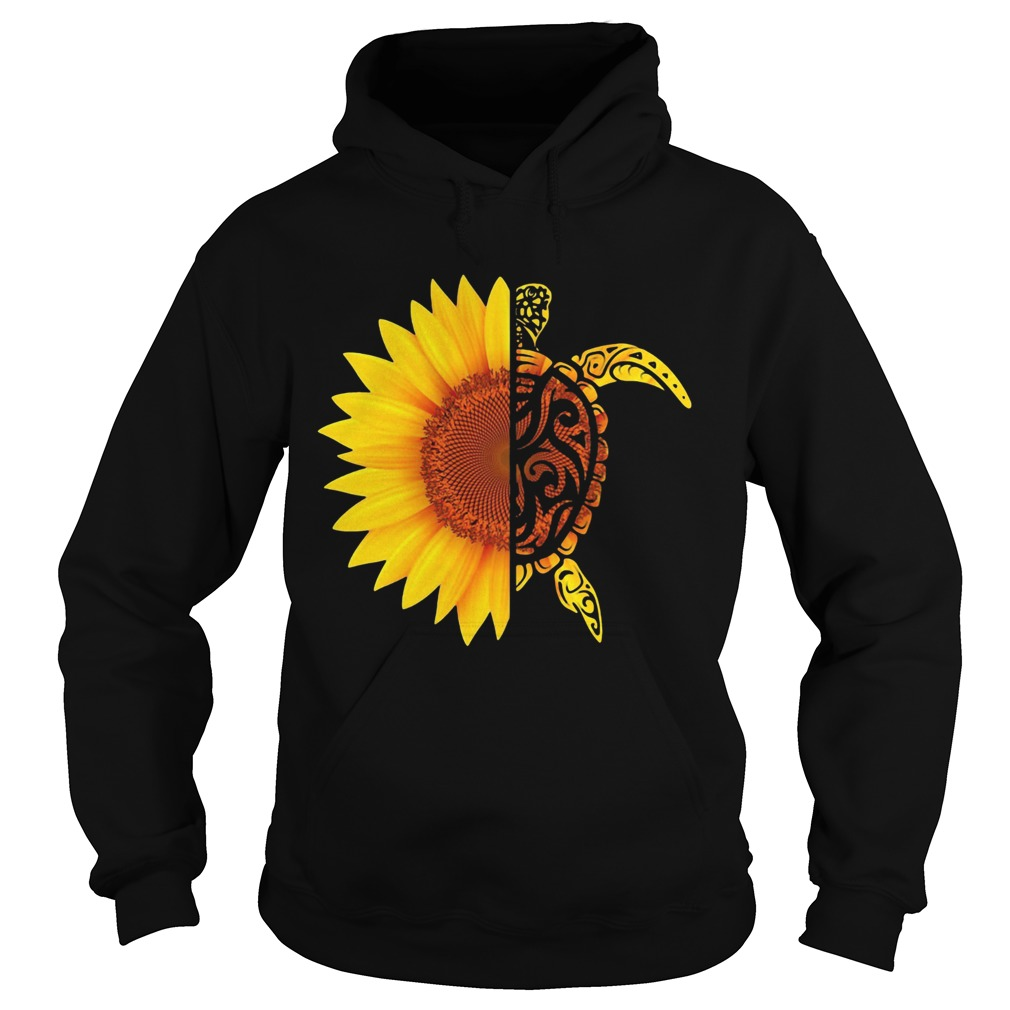 I Want To Have Turtle Sunflower  Hoodie