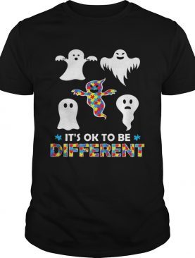 Its OK To Be Different Ghost Halloween shirt