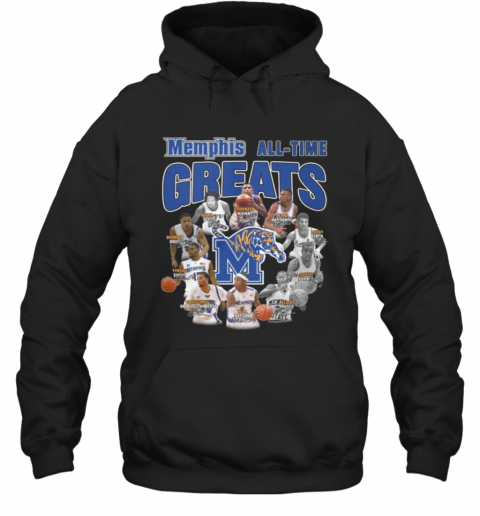 Memphis Tigers All Time Great Signatures T-Shirt Unisex Hoodie