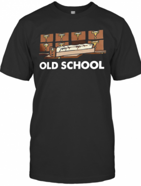 Old School Librarian New T-Shirt