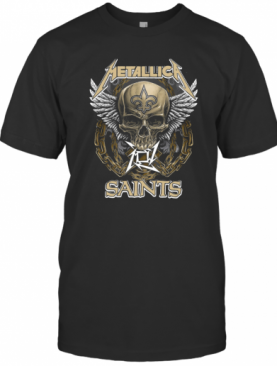 Skull Metallic Saints T-Shirt