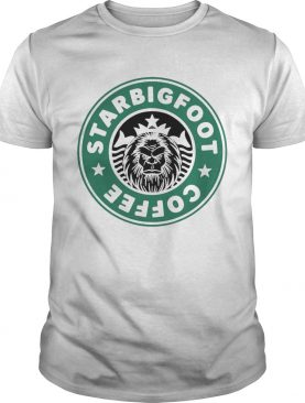 Starbucks Bigfoot Coffee Logo shirt