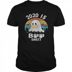2020 is boo sheet shirt Ghost and bats Funny Halloween shirt