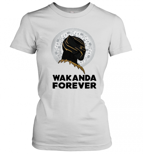 Black Panther Wakanda Forever Thank You For The Memories Signature T-Shirt Classic Women's T-shirt