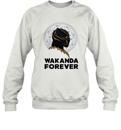 Black Panther Wakanda Forever Thank You For The Memories Signature T-Shirt Unisex Sweatshirt