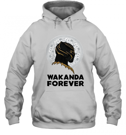Black Panther Wakanda Forever Thank You For The Memories Signature T-Shirt Unisex Hoodie