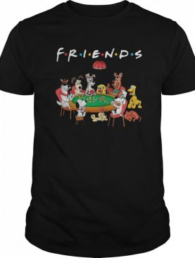 Friends All Dogs Characters shirt