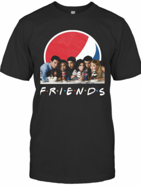 Friends Character Pepsi T-Shirt