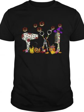 Hairstylists Pumpkin Halloween shirt