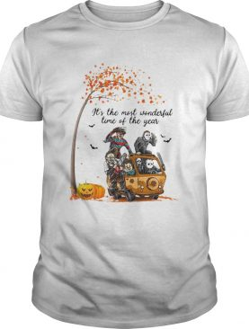 Horror Character Its The Most Wonderful Time Of The Year Halloween shirt