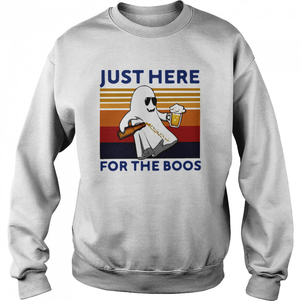 Just Here For The Boos Vintage Unisex Sweatshirt