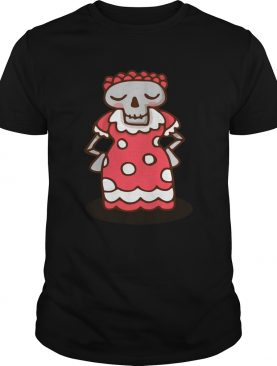 Skull Woman Day Of The Dead Muertos shirt