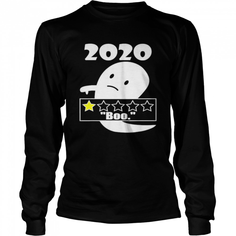 2020 One Star Rating Long Sleeved T-shirt