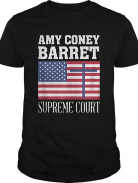 Amy Coney Barrett For Supreme Court Justice SCOTUS ACB 2020 shirt