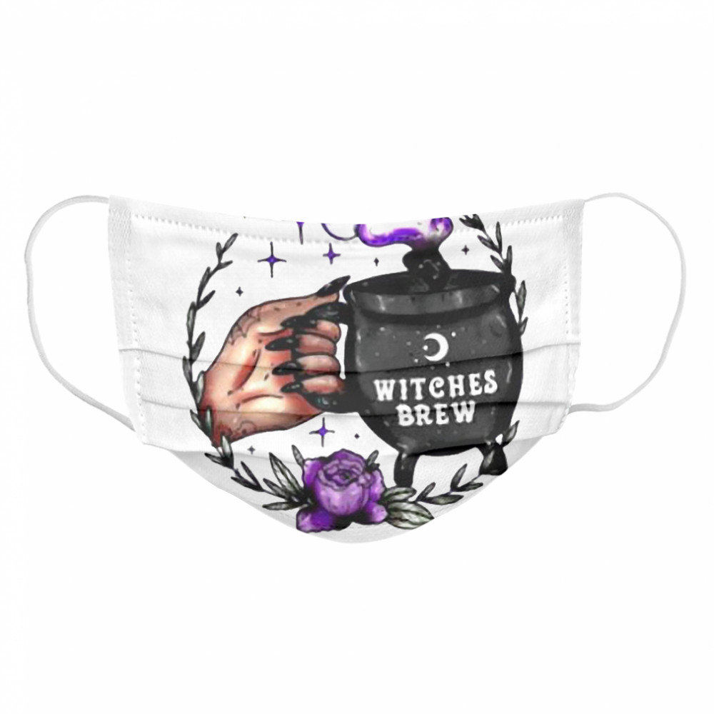 Good Witch Witches Brew Cloth Face Mask