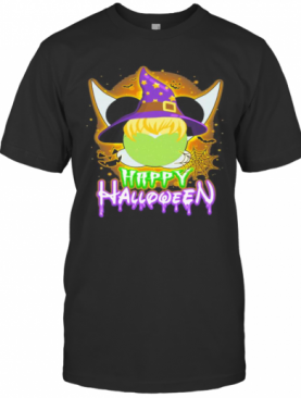 Happy Halloween Mickey Mouse Witch Star Moon T-Shirt