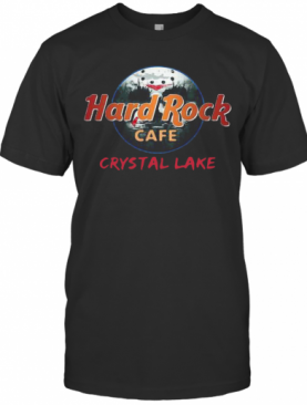 Jason Voorhees Hard Rock Cafe Crystal Lake T-Shirt