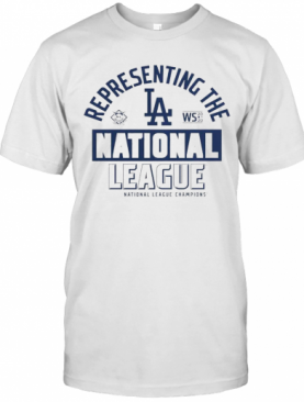 Los Angeles Dodgers Fanatics Branded 2020 National League Champions Locker Room T-Shirt
