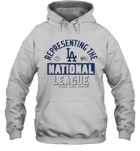 Los Angeles Dodgers Fanatics Branded 2020 National League Champions Locker Room T-Shirt Unisex Hoodie
