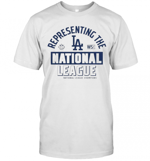 Los Angeles Dodgers Fanatics Branded 2020 National League Champions Locker Room T-Shirt Classic Men's T-shirt