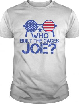 Who Built The Cages Joe Sunglasses American Flag shirt