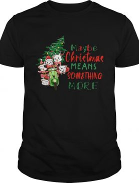 Cats Tree Maybe Christmas Means Something More shirt