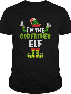 Im The Godfather Elf Quarantine Matching Christmas shirt