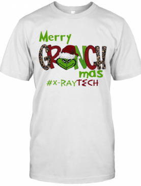 Merry Grinchmas X Ray Tech Christmas T-Shirt