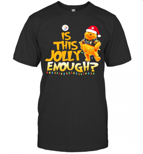 Pooh Is This Jolly Enough Pittsburgh Steelers T-Shirt Classic Men's T-shirt