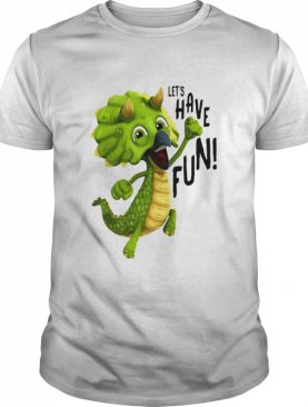 Gigantosaurus Tiny Let's Have shirt