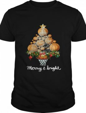 Good Volleyball Merry And Bright Christmas Tree shirt