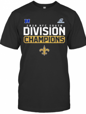 New Orleans Saints Are The NFC North Division Champions 2021 T-Shirt