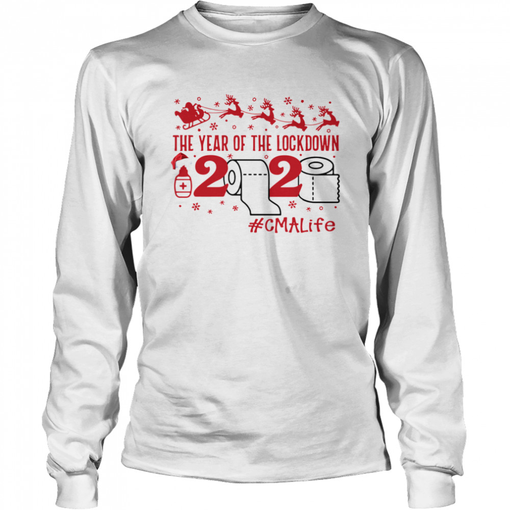 The year of the lockdown 2020 CMALife Christmas  Long Sleeved T-shirt