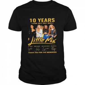 10 years Little Mix thank you for the memories signatures  Classic Men's T-shirt