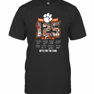 125 Years Of 1896 2021 Gifts For The Fans Signatures T-Shirt Classic Men's T-shirt