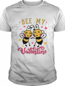 Bee my valentine shirt