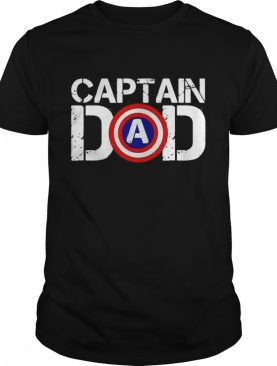 Captain America dad happy father's day 2021 shirt